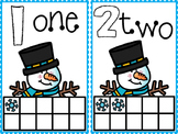 Snowman Ten Frame Math