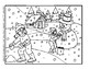 Snowman - Their, There and They're Color by Number -Worksheet on Common Mistakes