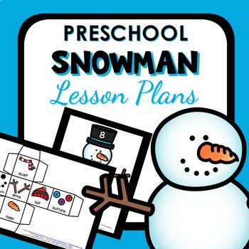 Snowman Theme Preschool Lesson Plans