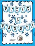 Snowman Themed Build a Banner
