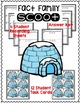 Fact Families - Snowman Themed - Scoot!