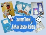 Snowman Themed Math, Literature, Glyph, and Learning Games