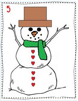 Snowman Thinking Activities