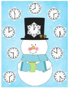 Snowman Time Bingo