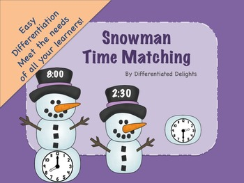 Snowman Time Matching