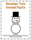 Snowman Turn Around Facts