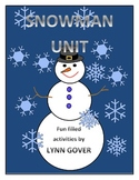 Snowman Unit for Literacy and Writing