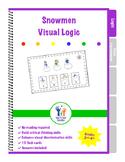Snowman Visual Logic Puzzles