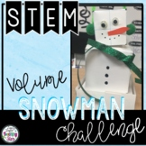 Snowman Volume STEM Challenge with a Great Book