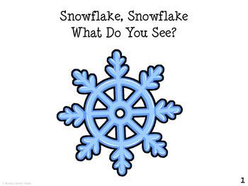 Snowman/Winter Book