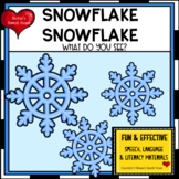 Snowman Snowman Early Reader Pre-k Literacy