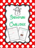 Snowman Winter Challenge
