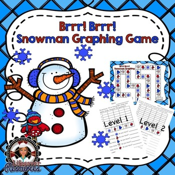 Snowman Winter Graphing Game