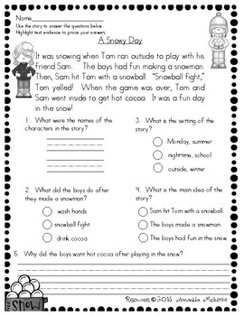 Snowman Winter Literacy Unit {Creative writing, Story Map, and more}