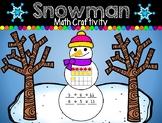 Snowman / Winter Math Craftivity