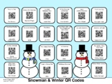 Snowman & Winter QR Codes