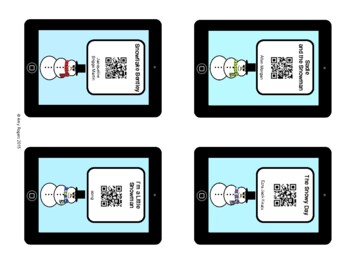 Snowman & Winter QR Codes