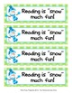 Snowman Winter Theme Bookmarks