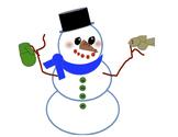 Snowman Winter Wonders Poster