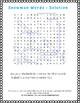 Snowman Winter Words - Fun Word Search Puzzle [Grades 3,4 &5]