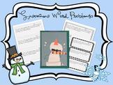 Snowman Word Problems!