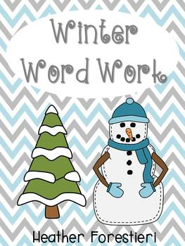 Winter Word Work Pack (CCSS aligned)