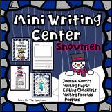 Winter Writing Activities Snowman Writing Center