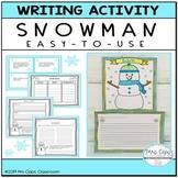 Snowman Writing Activity 2nd & 3rd Grade