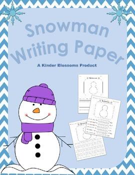 Snowman Writing Center