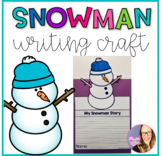 Snowman Writing Craft for Bulletin Boards