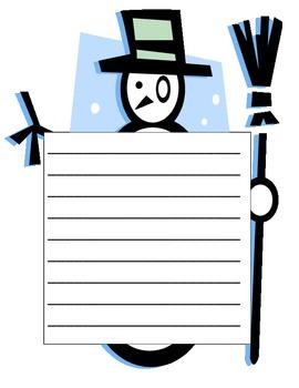 Snowman Writing Final Copy