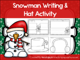 Snowman Writing & Hat Activity! Print & Go! Headband Strip
