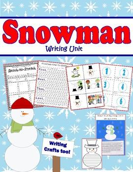 Snowman Writing Unit