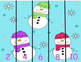 Snowman and Penguin Puzzles