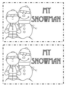 Snowman and Winter Activities