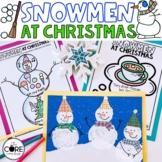 Snowmen at Christmas: Interactive Read-Aloud Lesson Plans
