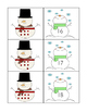 Snowman base ten number matching center
