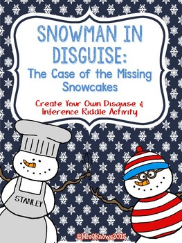 Snowman in Disguise Inference Activity
