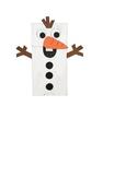 Snowman puppet