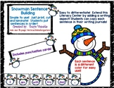 Snowman sentence building