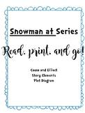 Snowman at Series Worksheets