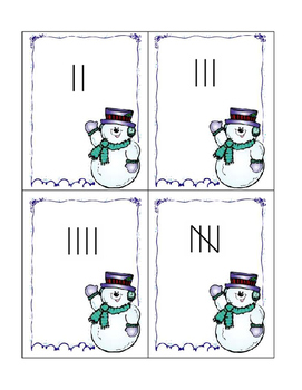 Snowman tally - What is the number?