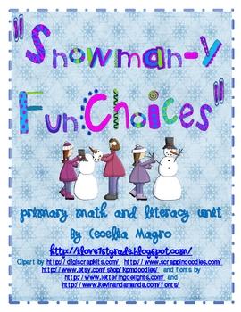 Snow Math and Literacy Unit