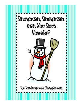 Snowman,Snowman Can You Sort Vowels?