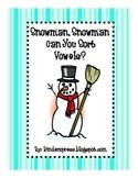 Snowman,Snowman Can You Sort Vowels?