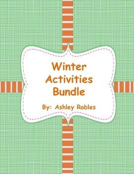 Snowman/Winter Activity Bundle