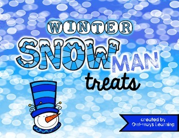 Snowman/Winter Treat