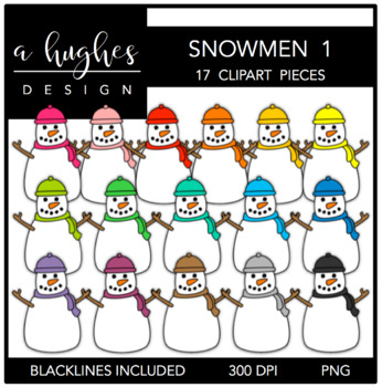Snowmen 1 {Graphics for Commercial Use}