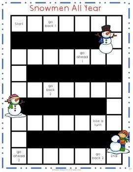 Snowmen All Year Activities