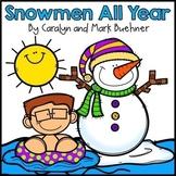 Snowmen All Year Book Unit
